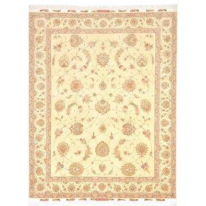 Tabriz 50Raj Oriental Rug, Hand-Knotted Classic, 249x200 cm