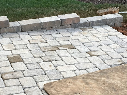 Need help for my paver patio