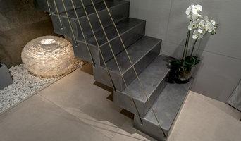 Консольная лестница  для проекта Дачный Ответ