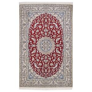 Nain 9La Persian Rug, Hand-Knotted, 245x156 cm
