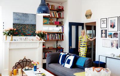 Visita privada: 40 m² llenos de color para conquistar Nueva York