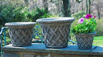 English Weave Planter