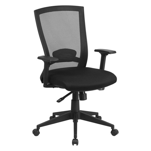 discounted flash furniture mid back mesh executive swivel office