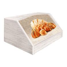 Pane Shabby Wooden Bread Bin