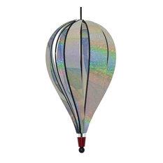Silver Sparkle Jumbo Hot Air Balloon