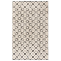 Safavieh Hand Woven Area Rug, VRM303Z, Ivory/Black, 5'x8'