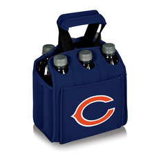 Chicago Bears Six Pack Beverage Carrier, Navy