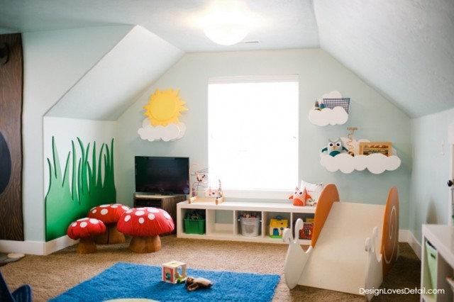 zauberhaft ein kinderzimmer wird zum verwunschenen spielparadies. Black Bedroom Furniture Sets. Home Design Ideas
