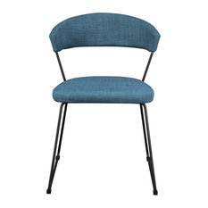 Moe's Home Adria Dining Chairs Blue Set of 2 by Moe's Home Collection
