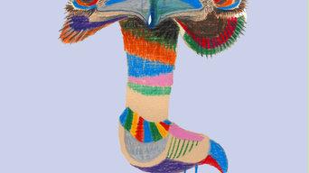 Quirky emu - Wall art for children