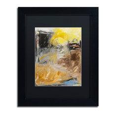 "Joarez 'Minh'alma' Framed Art, Black Frame, 11""x14"", Black Matte"