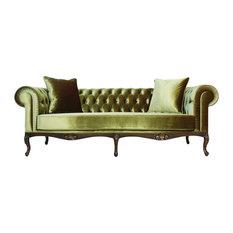 Leberta London   Portofino Tufted Chesterfield Sofa   Sofas