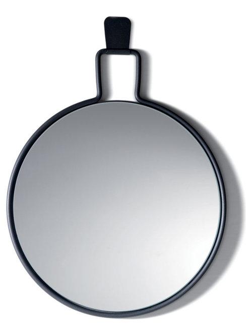 Flora Spegel 60cm, Grå - Vægspejle