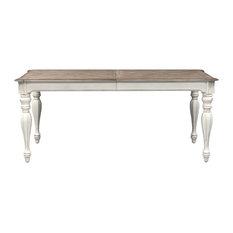 Emma Mason Signature Selecta Reid Rectangular Leg Table In Antique White