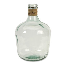 Boccioni Small Recycled Glass Jug, Small