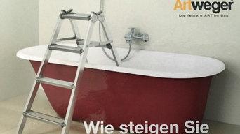 DuschenBadenWanne Twinline / Artlift - Bsp. Teilsanierung / Teilrenovierung