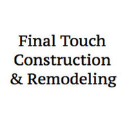 Final Touch Construction & Remodeling's photo