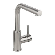 Miseno MK064F Pull-Out Kitchen Faucet (Solid T304 Stainless Steel)