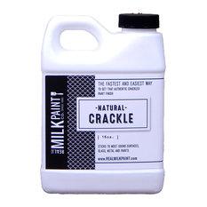 Natural Crackle, Amber, 16 Oz.