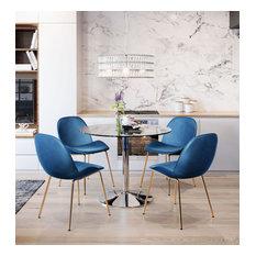 Galaxy Dining Table, Chrome