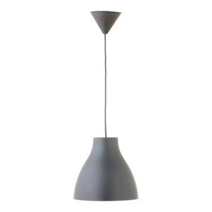 Pop PVC Pendant Lamp, Grey