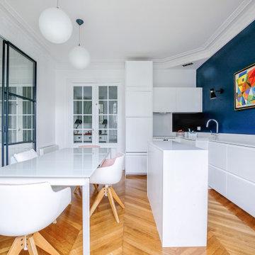 Rénovation complète à Neuilly