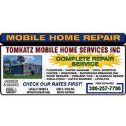 Tomkatz Mobile Home Services Inc - Daytona Beach, FL, US 32119 on mobile home service fairfield il, mobile home supplies, mobile home roofing, mobile home landscape, mobile home windows, mobile home products, mobile photography,