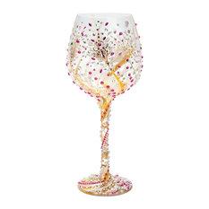 """Lolita 10th Anniversary"" Super Bling Wine Glass"