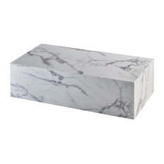 Core Marble Coffee Table, Rectangular
