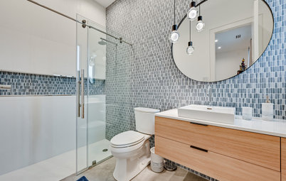 New This Week: 4 Beautiful Bathrooms With a Curbless Shower