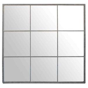 EMDE Zinc 9-Pane Mirror