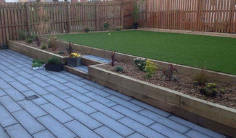 Astro turf and granite planking complete in Uddingston.