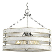 Gulliver 4 Light Pendant in Galvanized