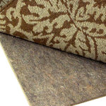 """Rug Pad Corner - Superior 3/8"""" Thick Square Felt Rug Pad, 6x6 - Guaranteed 100% Natural containing only recycled pre-consumer fibers"""