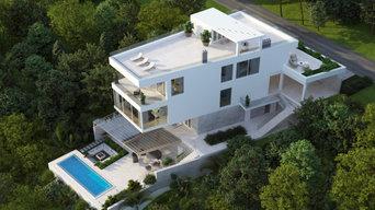 Проект частного дома в Сочи