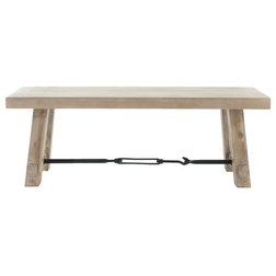 Industrial Dining Benches by Orient Express Furniture