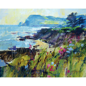 """Getting To the Point, Prawle"" Printed Canvas by Chris Forsey, 50x40 cm"