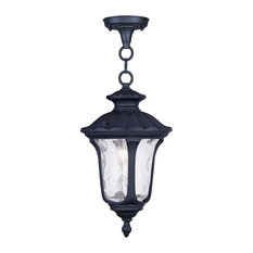 Oxford Outdoor Chain-Hang Light, Black