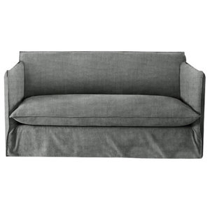 Sophie Sofa Bed, Stone, 1.5 Seater, 113x186 cm
