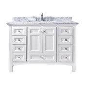 """Luz 42"""" Bathroom Vanity, White"""