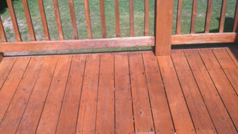 Deck Repair and Stain