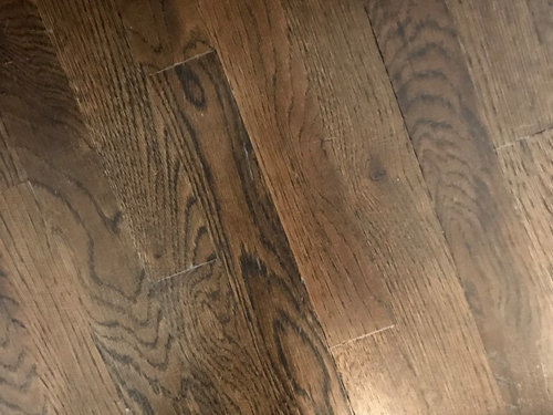 The Polyurethane Is Scratching So Easy And I Have White Lines In Joints Why This Henin Did My Floor Guy Do Somethin Wrong
