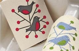 Swedish Dishcloths, Bird