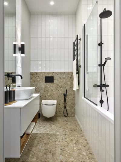 Современный Ванная комната by Катерина Колмыченко