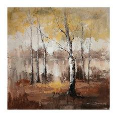Yosemite Home Decor - Autumn Mist - Paintings