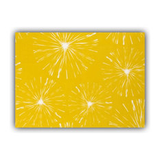 Fireworks Pineapple Indoor/Outdoor Placemat, Finished Edge