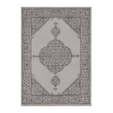 Surya   Rhea Traditional Taupe, Pale Blue Area Rug, 2u0027x3u0027