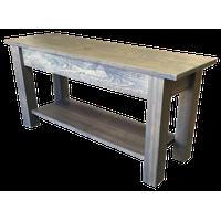 """Cape Cod Storage Bench With Shelf, 36"""""""