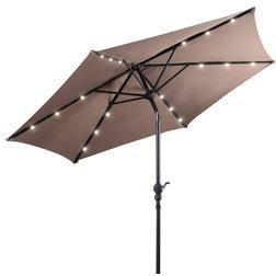 Contemporary Outdoor Umbrellas by Goplus Corp