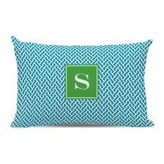 Lumbar Pillow Stella Single Initial, Letter S